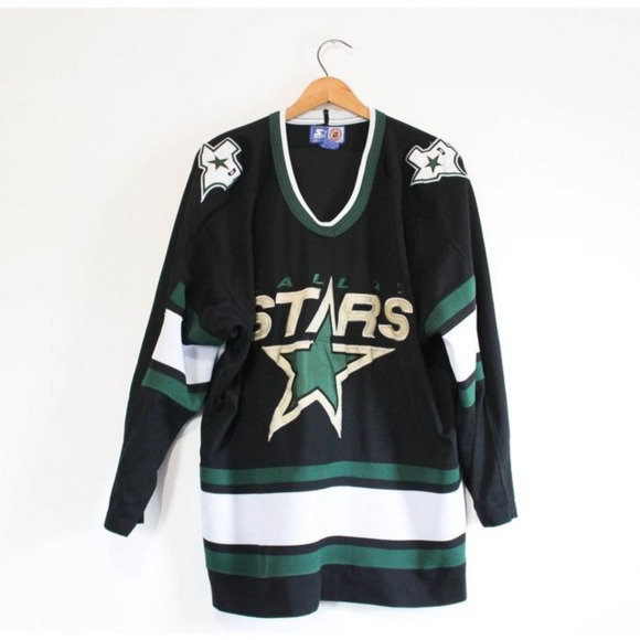 Vintage Dallas Stars NHL Hockey Starter Jersey